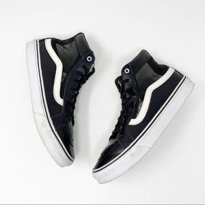 Vans Mesh SK8-Hi Cutout in Black/White